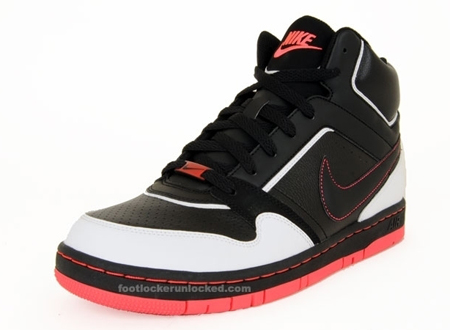 Nike Prestige High - Black / White - Hot Red