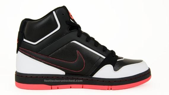 Nike Prestige High - Black / White - Hot Red