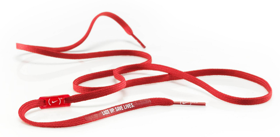 (Nike) RED Laces - World AIDS Day