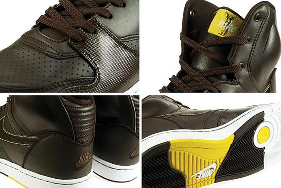 Nike RT1 High - Dark Cinder / White - Varsity Maize