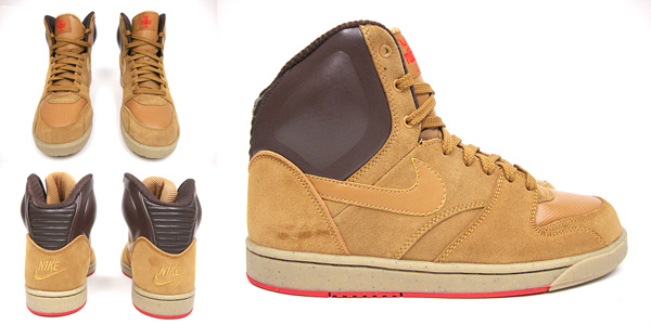Nike RT1 High Dark Cinder Gum Yellow