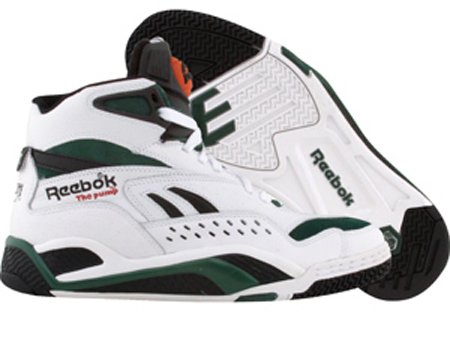 Reebok Battleground Bringback - White / Black / Green