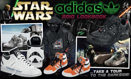menor Contemporáneo Flotar  Star Wars x adidas Originals - 2010 Collection | Gov