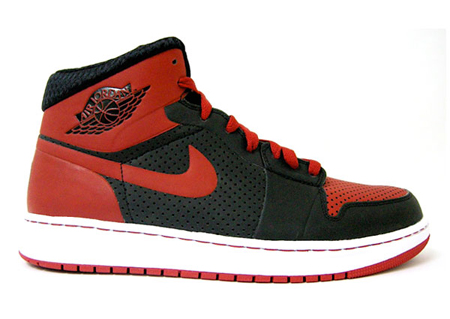 a1e8a82c8256 Release Reminder Air Jordan Alpha 1 Black Varsity Red White chic ...