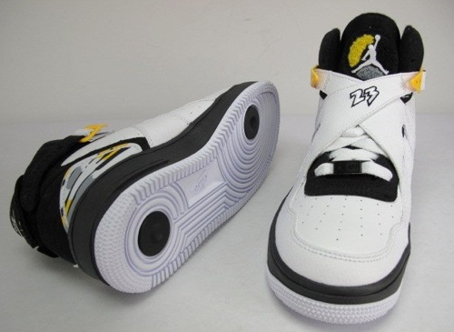 Air Jordan Force Fusion VIII (GS) White Black-Varsity Maize ... 4904fd01a03e