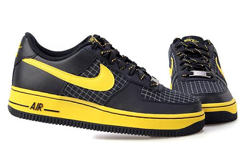 Air Force 1 Low GS Black Speed Yellow on eBay  05f148083