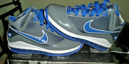 f8b3aa227a423 Nike Air Max Lebron VII Cool Grey Varsity Royal-White