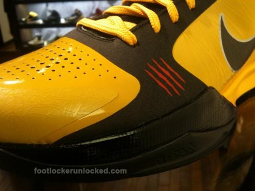 """sale retailer 7e3ad 32c16 Last December we got a look at yet another Nike Zoom Kobe V colorway  nicknamed the """"Bruce Lee"""" pair because of its obvious ties to the famous  martial artist ..."""