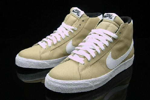 "Yesterday we showed you shots of a Nike SB Blazer that had recently hit the  internet with heel tabs that read ""SHOE"" on them. Although much was left to  ..."