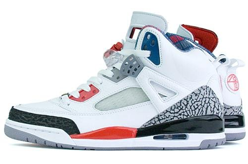 0d78851aa414 Release Reminder  Air Jordan Spizike White Fire Red-Black