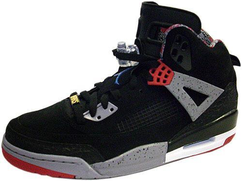 the best attitude 6acce 72bf1 Release Reminder  Air Jordan Spizike Black Varsity Red-Cement Grey-Military  Blue
