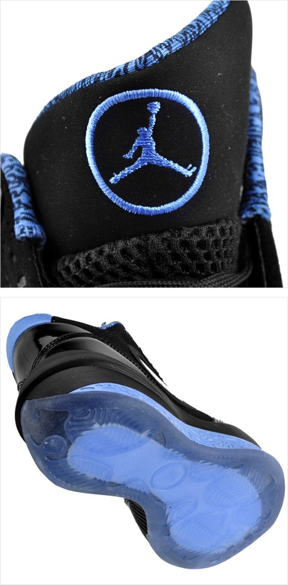Air Jordan 2010 Black / University Blue - New Images
