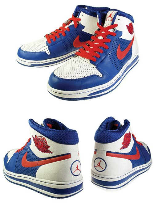 "The ""New York Knicks"" Air Jordan Alpha I (1) is now available at the House"