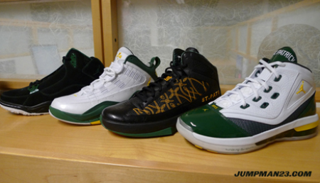 Air Jordan - St. Patrick's Player Exclusives