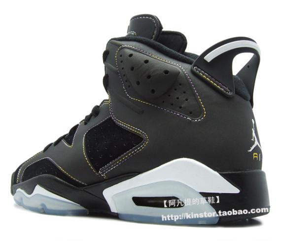 Detailed Look: Air Jordan VI (6) - L.A. Lakers