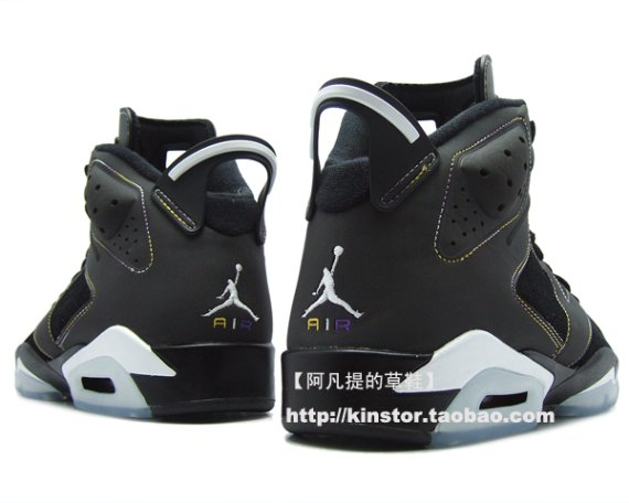 Detailed Look: Air Jordan VI (6) - L.A. Lakers