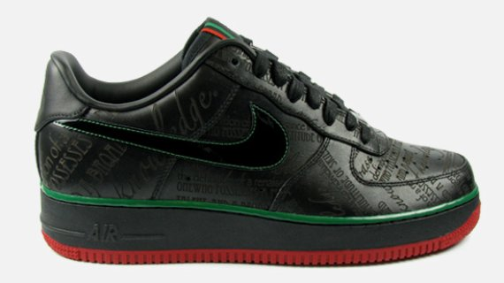 Nike Air Force 1 – Black History Month 2010