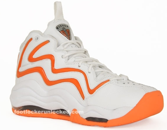 Nike Air Pippen I - White / Total Orange