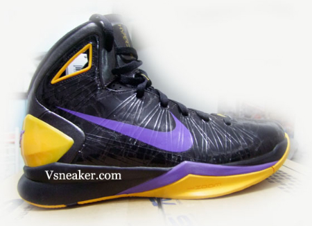 c1a2db18c932 Nike Hyperdunk 2010 - L.A. Lakers Away