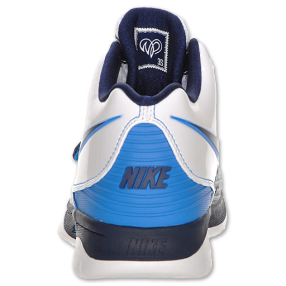 Nike KD II (2) - White / Midnight Navy - Photo Blue