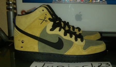 Nike SB Dunk High Sample - Urban Haze