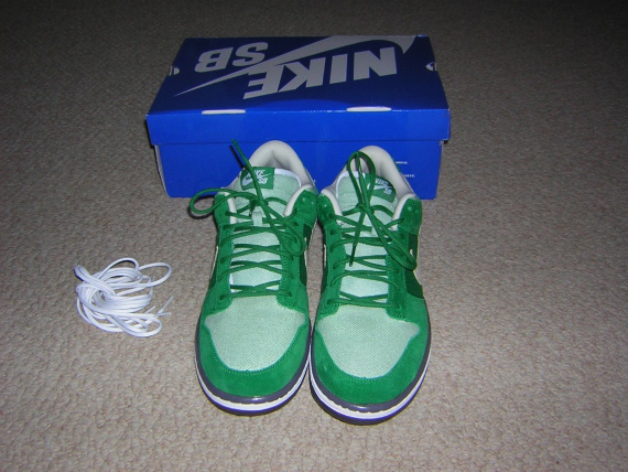 Nike SB Dunk Low Premium - St. Patrick's Day / Green Hemp