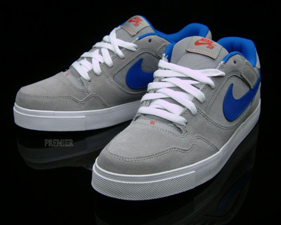 Nike SB P-Rod 2.5 – Medium Grey / Sport Red