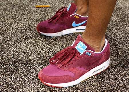 stable quality on feet shots of so cheap Patta x Parra x Nike Air Max 1 | SneakerFiles