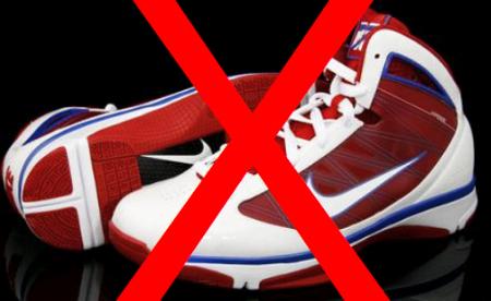 Detroit Pistons' trainer bans the Nike Hyperize