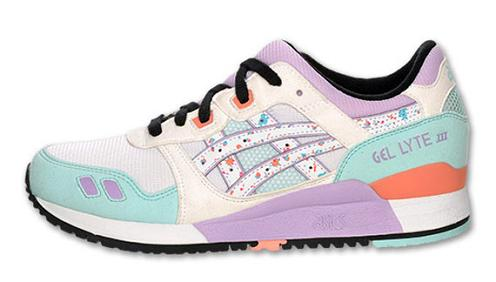 ... of these colorways of the classic Asics Gel Lyte III training shoe.  Each pair is on sale now for approximately  80. Click to Purchase at  Finishline.com a358f3a32e