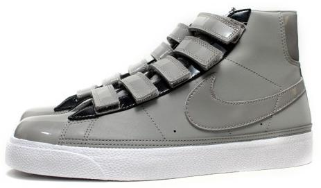 outlet store 906a1 1fa6b Nike Blazer AC High Grey White