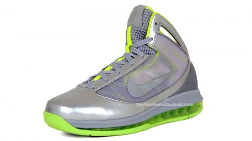 Nike Air Max Hyperize Metallic Silver Volt Full Preview low-cost ... eb62363382