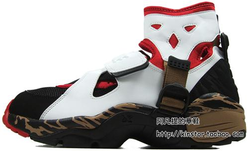 NikeAirCarnivoreWhiteBlackRedBrown1