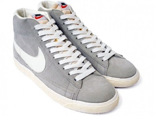 new products dee60 d8467 Nike Blazer High Vintage Stone/Sail-White | SneakerFiles