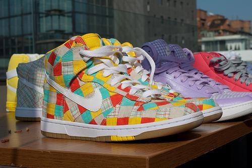 NikeDunkHighPatchwork