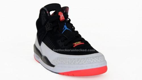 reputable site 883ba bd49b Last month we saw another generally liked Air Jordan Spizike colorway  release with the black varsity red-cement grey-military blue pair.