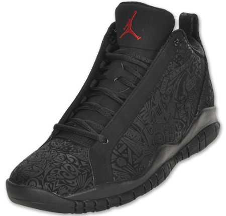 Air Jordan Accolades - Black / Varsity Red - Now Available