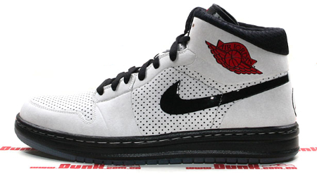 Air Jordan Alpha I (1) - White / Black - Varsity Red