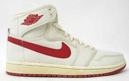 "Air Jordan (I) 1 ""AJKO"" – White / Varsity Red"