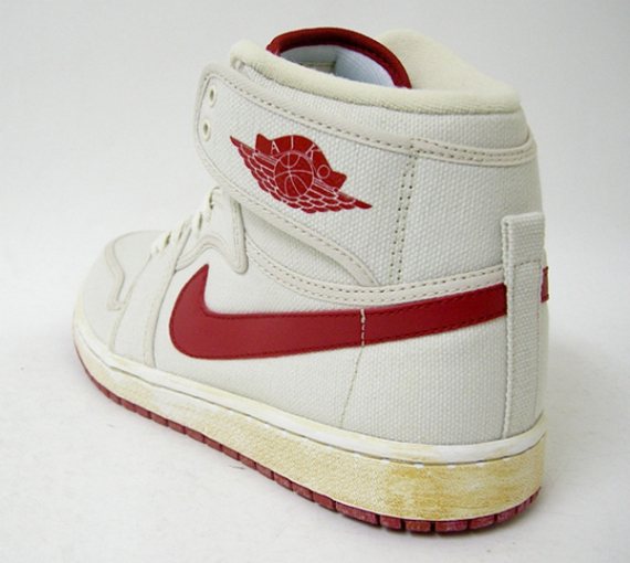"Air Jordan (I) 1 ""AJKO"" – White / Varsity Red"