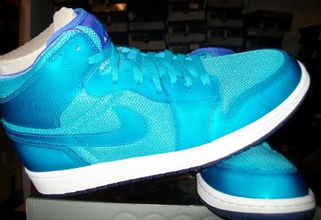 Air Jordan I (1) Phat LS - Marine Blue   Medium Blue - White (Via  Sneakerfiles.com)  bd9d7a4c8c
