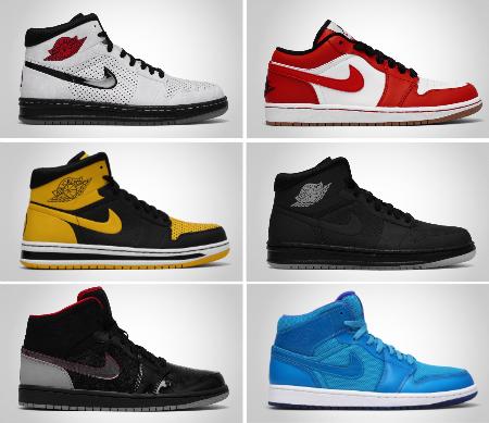 Air Jordan I (1) - Spring / Summer 2010 Releases