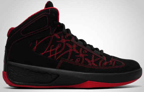 Air Jordan Icons - Black / Varsity Red