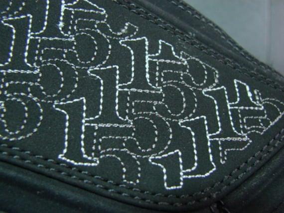 Air Jordan Melo M5 Unreleased Sample - Black / Metallic Silver