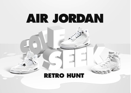 Air Jordan Sole Seek Retro Hunt - Starting Today