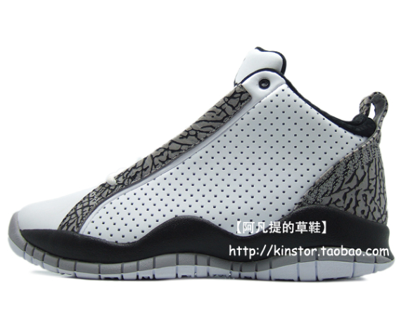 Detailed Look: Air Jordan Accolades - White / Black