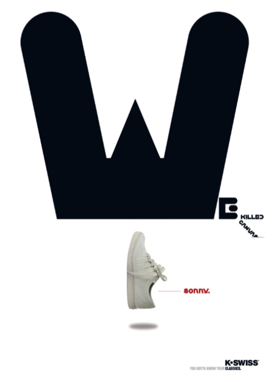 K-Swiss Classic - Poster Campaign
