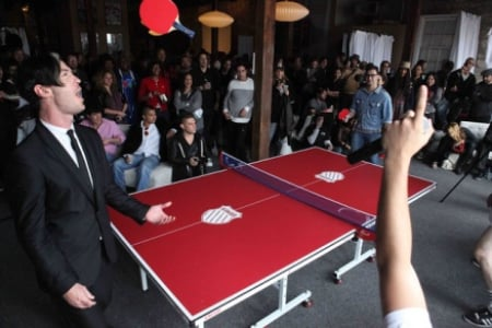 K-Swiss Hosts Charity Ping Pong Tournament at SXSW
