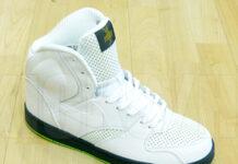 Niek RT1 High - White / Green - Lime