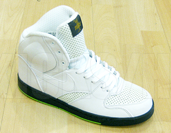 Niek RT1 High - White / Green - Lime